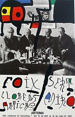 Joan Miro Poster Print