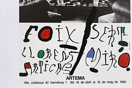 Joan Miro Poster Print - 2