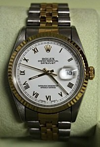 18kt Two-tone Oyster Perpetual Datejust Rolex Watch