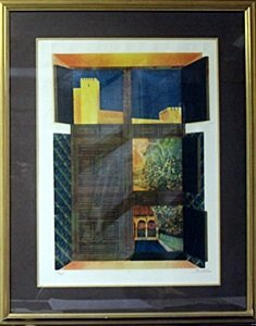 """Embossed Lithograph """"5"""" By Sunol Alvar"""
