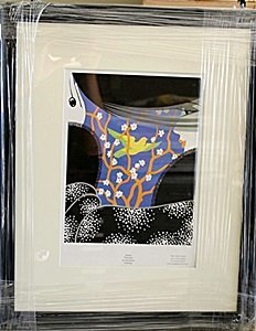 "Framed Lithograph ""ZSA"" by Erte"