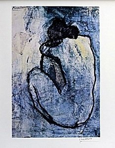 "Lithograph ""Blue Nude"" After  Pablo Picasso"