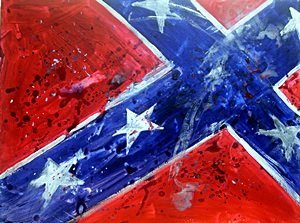 Confederate Flag I -  by Michael Schofield