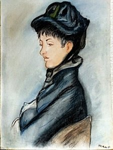Lady Comillette - Edouard Manet
