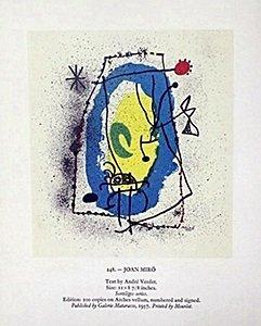"Print ""joan Miro"" By Joan Miro"