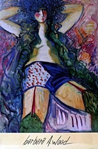 """Print """"Lady of the Night"""" after Barbara A. Wood"""