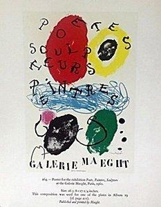 "Print ""Gallerie Maeght"" by Joan Miro"