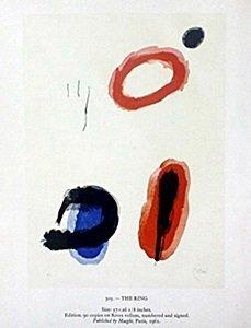"Print ""The Ring"" by Joan Miro"
