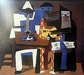 "Print ""three Musicians"" After Pablo Picasso"