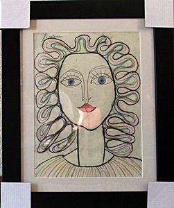 Woman Ii 1950' - Pablo Picasso