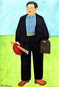 Self-portrait - Diego Rivera