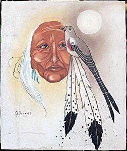 Original Acrylic Painting By Burnett