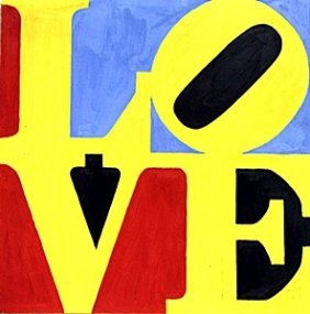 Love No.7 - Robery Indiana