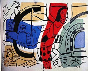 Fernand Leger - The Acrobats