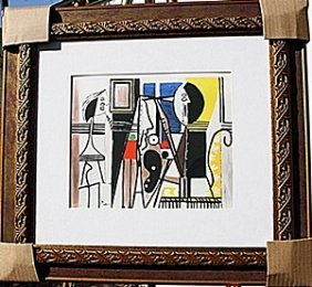 """painter And Model"" - Picasso - Limited Edition"