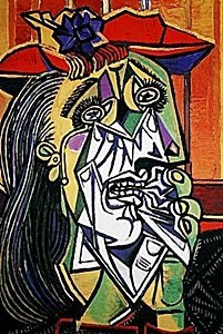 Picasso Limited Edition - Woman In Tears - From