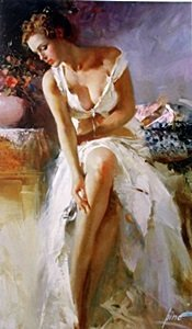 """Giclee On Paper """"angelica"""" After Pino"""