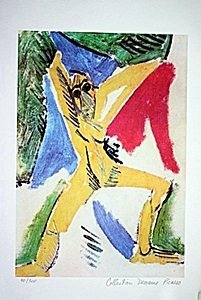Picasso Limited Edition - Study For The Damselles Of