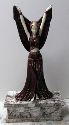Angela - Bronze  Sculpture by Chiparus