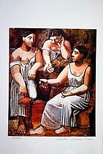 Picasso Limited Edition - 3 Women At The Spring - from
