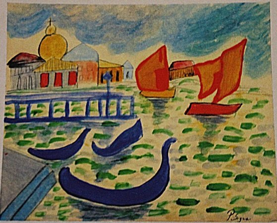 Paul Signac - The Rivere