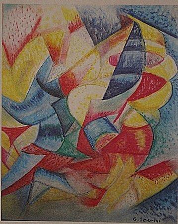 Gino Severini - Composition V