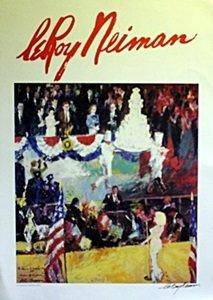 The President's Birthday - LeRoy Neiman