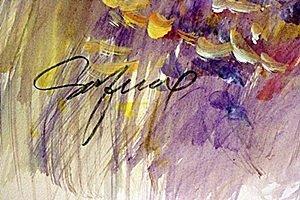 Original Water Color on Paper   Michael Schofield - 2