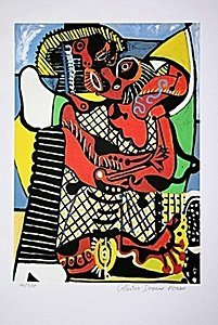 Picasso Limited Edition - The Embrace - from Collection