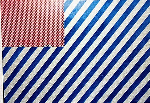 Roy Lichtenstein - The Flag