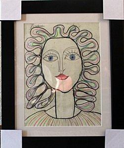 Woman II 1950'  Pablo Picasso
