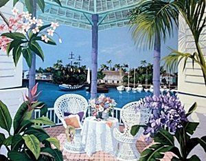 """Offset Lithograph """"Tropical Hideaway""""  Sharie H."""