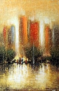 """Giclee """"City Whispers""""  Cecil K."""