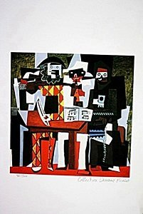 Picasso Limited Edition - 3 Musicians - from Collection