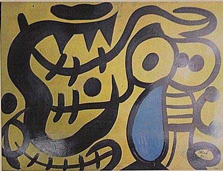 Joan Miro - El Niño Y El Tigre