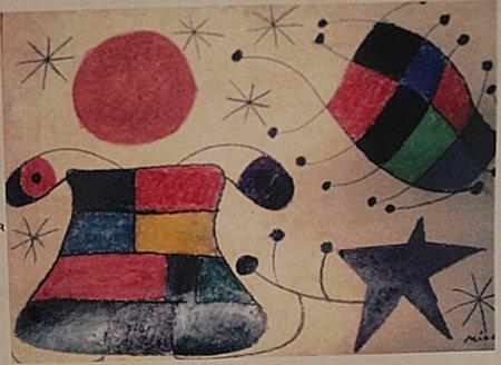 Joan Miro - Boy In The Park