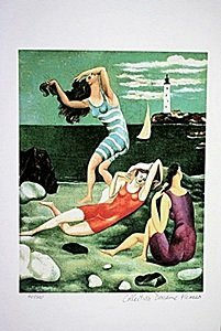 Picasso Limited Edition - The Bathers - from Collection