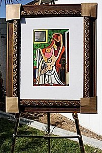 """Authentic """"Nude In An Armchair"""" - Picasso - Limited"""