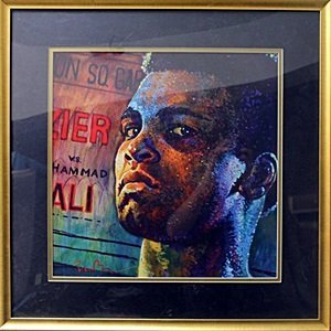 """authentic giclee """"Fight Night"""" after Simon Bull"""