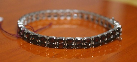 Beautiful Bracelet with Sapphire