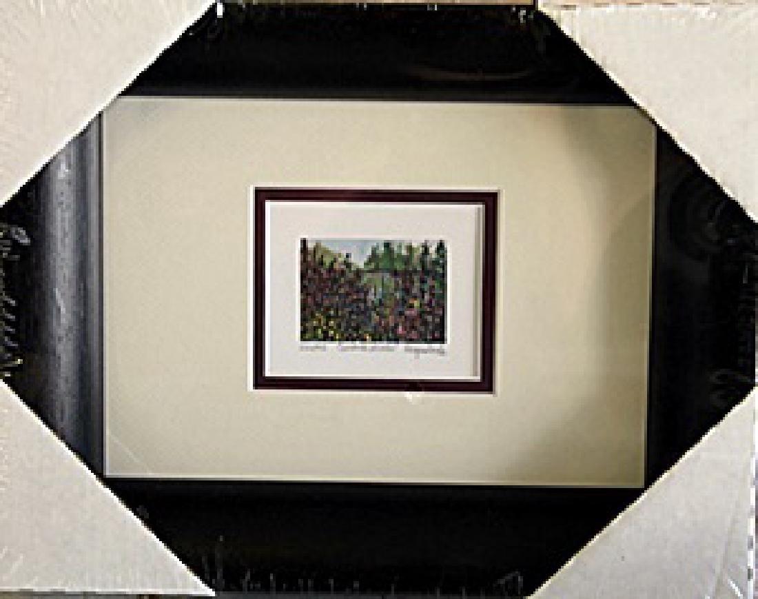Framed Lithograph by Kathleen Moraldo