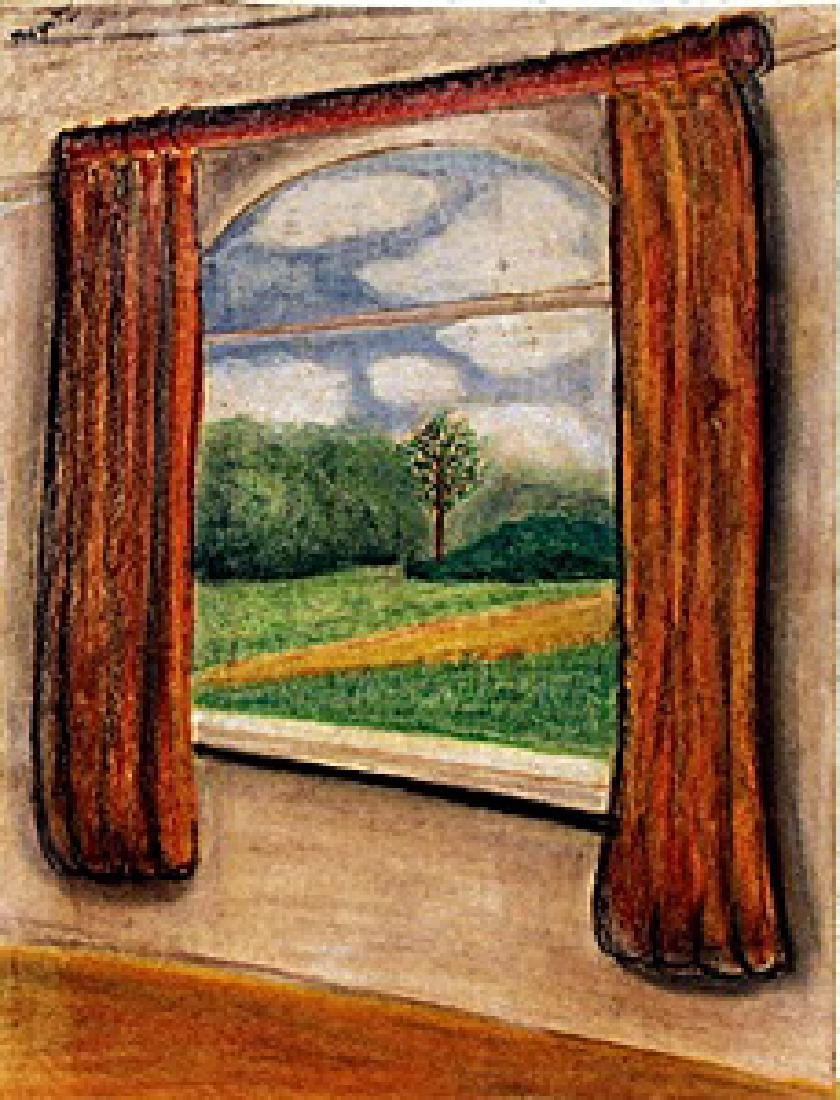 The Window 1940'  Rene Magritte