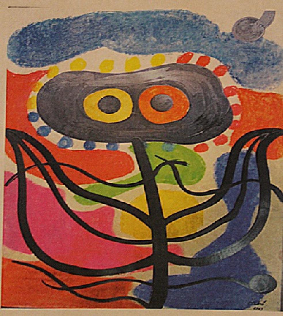 Joan Miro - La Planta