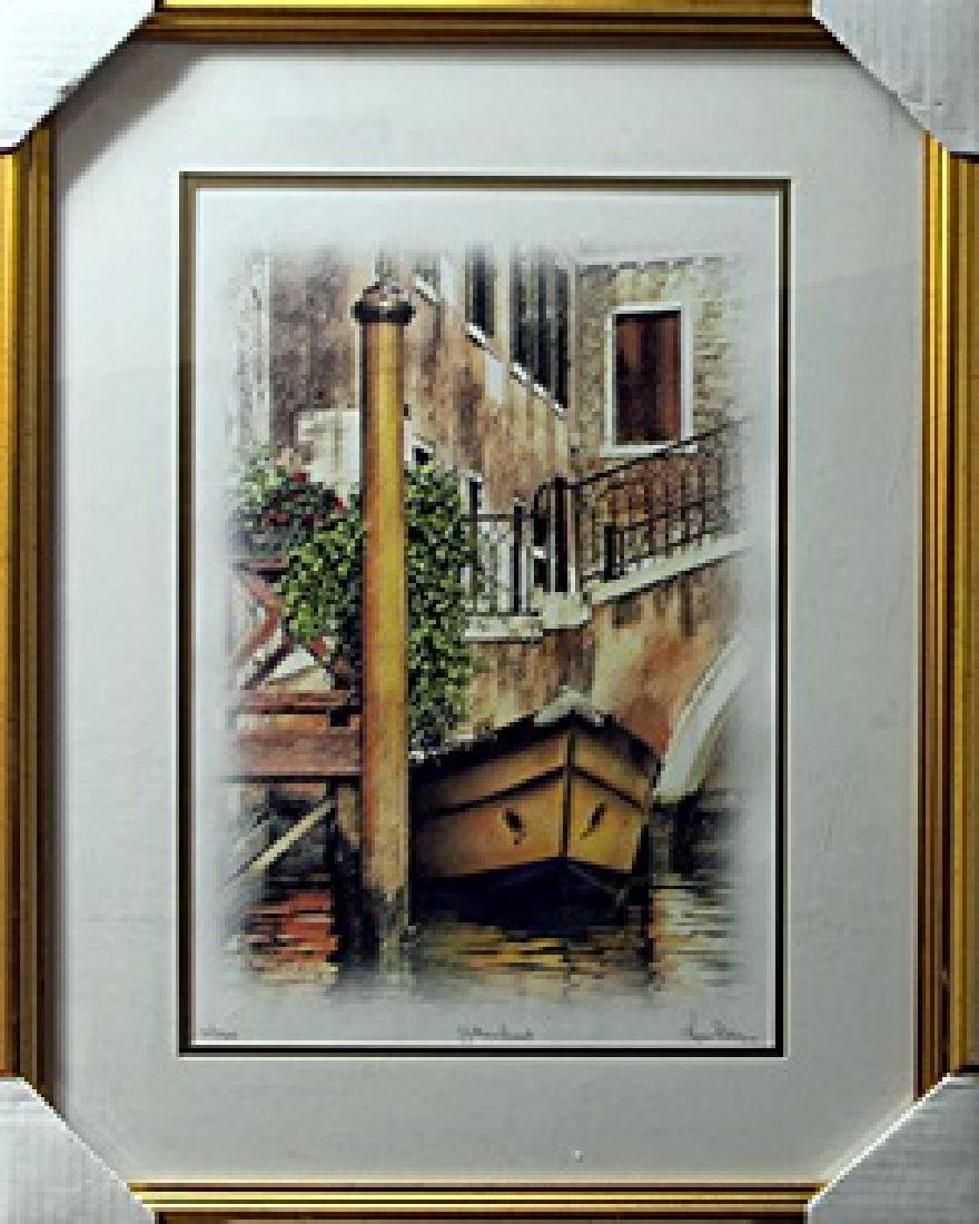 """authentic giclee """"Yellow Boat""""  Kris Peterson"""