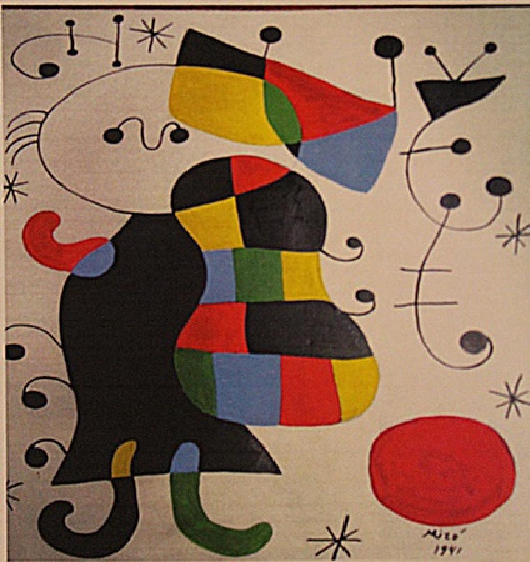 Joan Miro - Boy With Ball