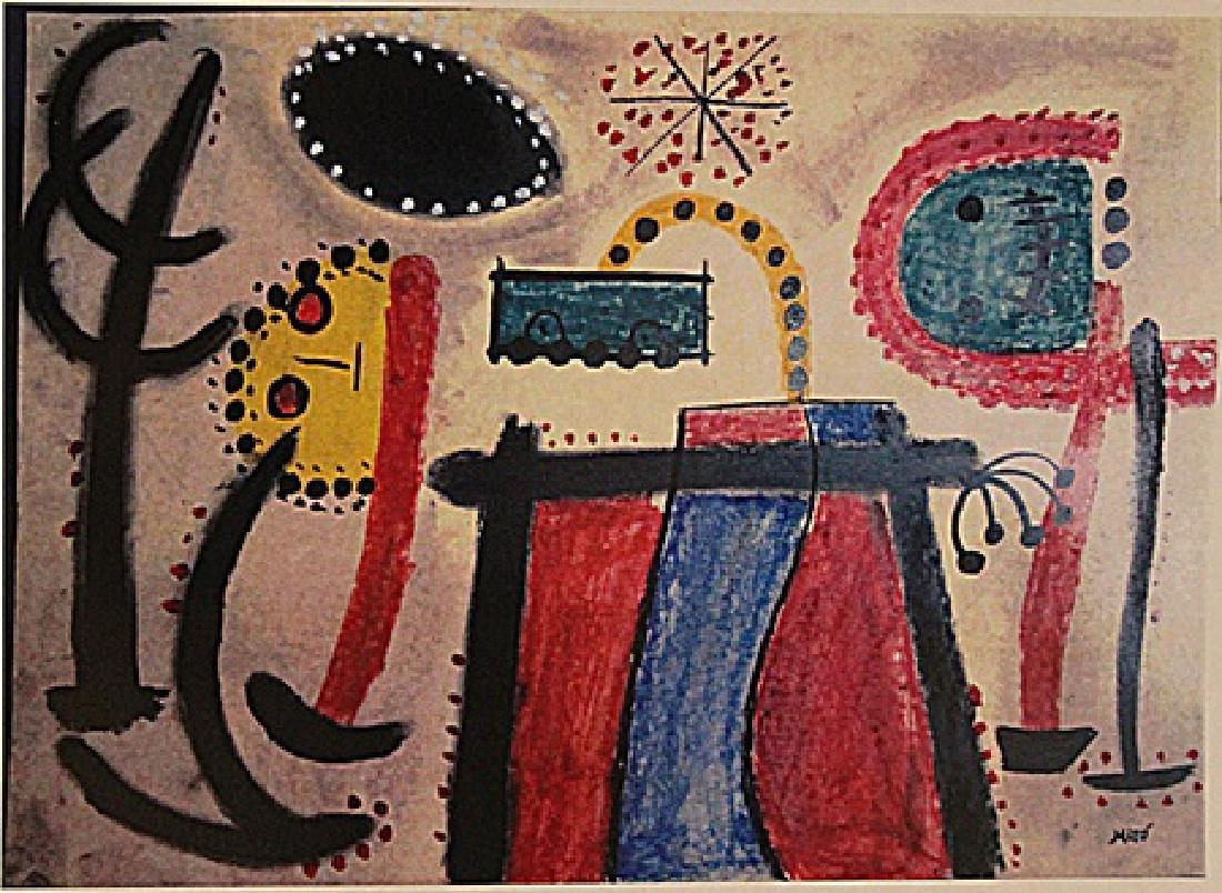 Joan Miro - Characters