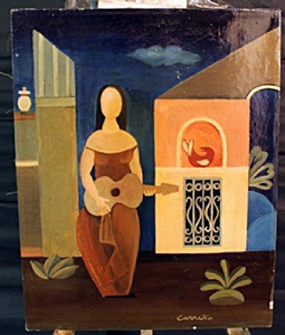 Oil on Canvas  Karen Corrino