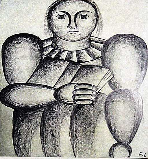 fernand leger woman with a book