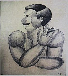 Fernand Leger - The Sailor Man