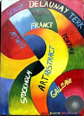 Oil Painting  Sonia Delaunay